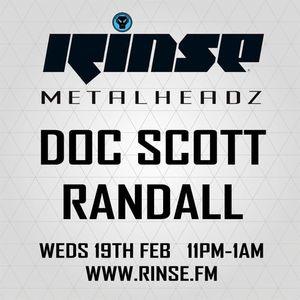 Dj Randall & Doc Scott Live On Rinse FM 19/2/2014