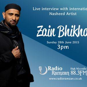 Zain Bhikha Interview 28th June 2015