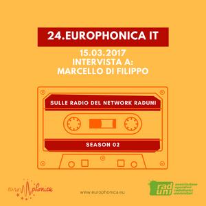 EUROPHONICA #IT: intervista al Prof. Marcello Di Filippo