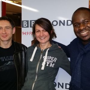Edward Adoo and Polly Courtney - BBC London - Simon Lederman Late Show - Review The Day - 7/1/14