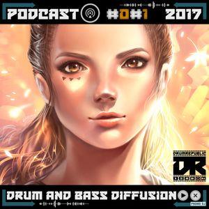 Drumrepublic Podcast - D&B Diffusion #01 (2017)
