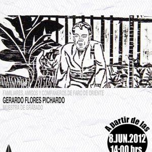 Radio Faro entrevista a Gerardo Flores Pichardo, en la Exposición Familiares, Amigos y compañeros de