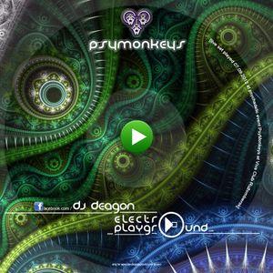 19. dj DEAGON - PsyMonkeys [live set played 07.09.2012 at psychadelic party PsyMonkeys at Ruzomberok