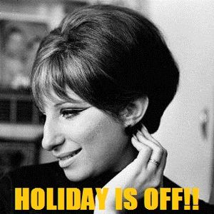 No More Holiday! Yeah!!