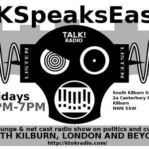 SK Speaks Easy 1st Show July 18th 2014 Live from South Kilburn Studios