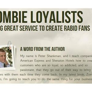 Create Rabid Fans with 'Zombie Loyalists' Author Peter Shankman