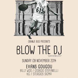 Giorgio Stefanelli @ Blow the DJ 2014 quarterfinals/PH1