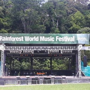 Clubglobal special review 25.8.18 of the Sarawak Rainforest World Music Festival with DJ Skunk