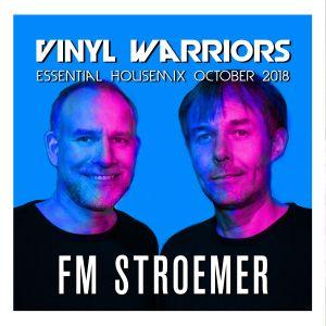 FM STROEMER - Vinyl Warriors Essential Housemix  October 2018 | www.fmstroemer.de