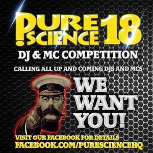 PURE SCIENCE 18 COMP ENTRY - DJ RAPID & MC DRAMA
