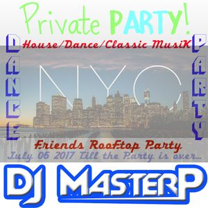 DJ MasterP NYC Rooftop Private Party 06-07-2017