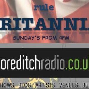 Britannia Music Live Radio Show on Shoreditch Radio - with Robbie Boyd Band