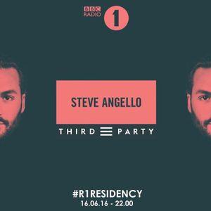 BBC Radio 1's Residency Steve Angello with Third Party 16 June 2016