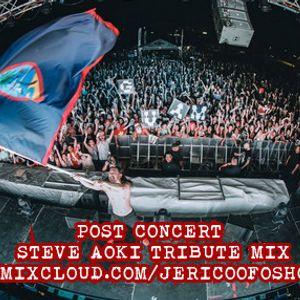 Post Concert - Steve Aoki Tribute Mix