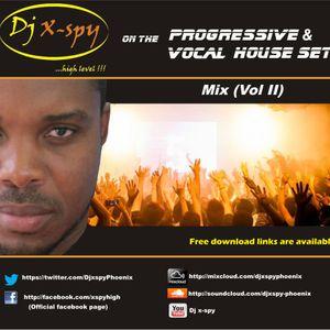 X-Spy on the progressive and vocal house set 2013 (Mix Cd vol II)