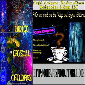 CAFE ENIGMA-INDIGO CRYSTAL RAINBOW AND STARSEEDS