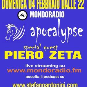 Apocalypse @ Mondoradio 37 ( guest Piero Zeta ) 04 Febbraio 2018