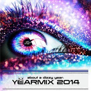 The Dizzy DJ - about a dizzy year: YEARMIX 2014