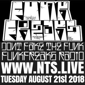 Funk Freaks Radio - 21st August 2018
