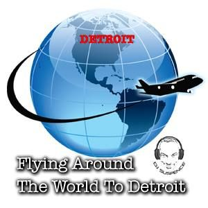 Flying Around The World To Get To Detroit