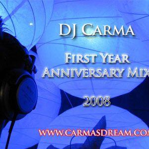 DJ Carma First Year Anniversary Mix 2008