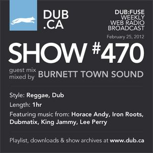DUB:fuse Show #470 Guest Mix (February 25, 2012)