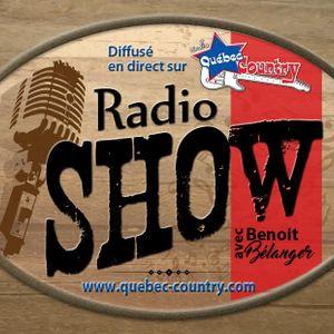 Radio Show du 22 Avril 2018 partie 2 sur Radio Québec-Country