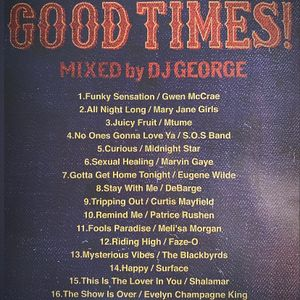 KUSH AND THE GANG MELLOW 80's/DJ GEORGE