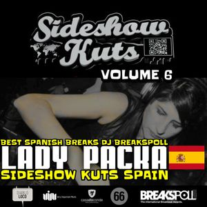 SIDESHOW KUTS VOL 6 MIXED BY LADY K PACKA SIDESHOW KUTS SPAIN  (V.I.M.RECORDS/DIABLO LOCO)