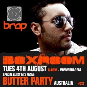 Butter Party - Boxroom Mix August 2009