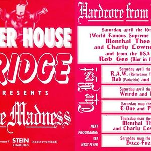 Rob Gee, Charly Lownoise & Mental Theo @ Pure Madness - Bridge, Stein 16-04-1994