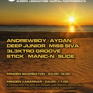 03 Andrewboy, Slide, Miss Siva, Aydan - Coronita Club Budapest (2011 08 14)