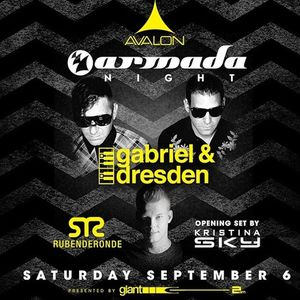 Gabriel & Dresden Live At Avalon, Hollywood 09 - 06 - 14