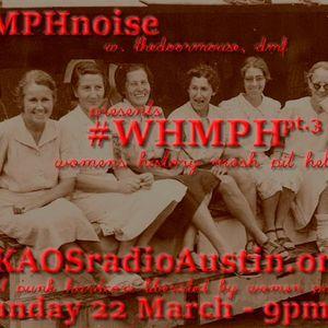 WHMPH 2015 Vol.3 KAOS radio Austin Mosh Pit Hell of Metal Punk Hardcore w doormouse dmf