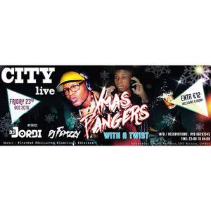 Friday 23 Dec @ CITY LIVE - Pre-Xmas Party w/ Femzzy & Jordi SexyRnB Afrobeats Reggaeton Dancehall