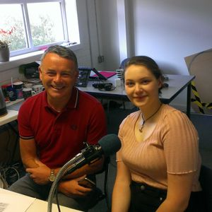 Breakfast with Debbie Noblett 29 May 2018 (guests Councillor Matthew Tomlinson and Sophie Broady)
