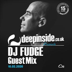 DJ FUDGE is on DEEPINSIDE