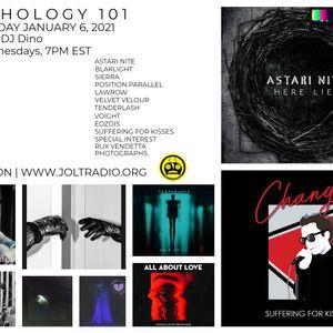 SYNTHOLOGY 101 January 2021 Edition with DJ DINO on JOLT RADIO | NEON TRANSMISSIONS