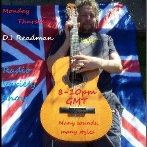 Dj Readman Monday Radio Variety Show ( July 23rd)