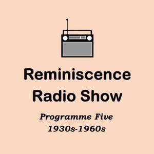 Show 5: Full programme, 1930s-1960s