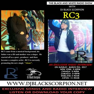 RC3 - Radio Interview on The Black and White Radio Show 3-5-17