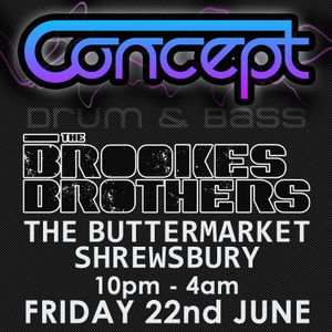Brookes Brothers @ The Buttermarket Shrewsbury 22/06/12 competition