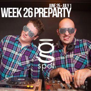 WEEK 26 Preparty (June 25 - July 1)