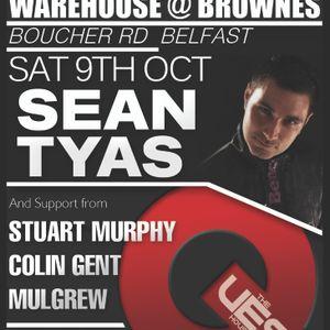 Mulgrew @ The Warehouse, Belfast [09-10-2010]