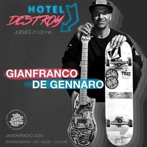 HOTEL DESTROY - GIANI DE GENNARO -CAP 9 - 31/5/18