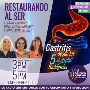 RESTAURANDO AL SER-02-10-20-GASTRITIS DESDE LAS 5 LEYES BIOLOGICAS