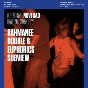Euphorics - Outlook festival Serbia launch party (promo mix)