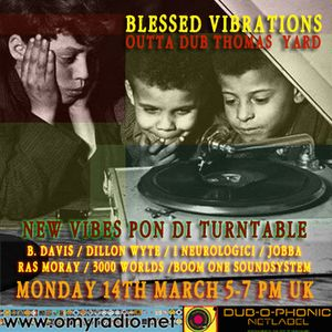 Blessed Vibrations 17 / New Vibes Pon Di Turtable