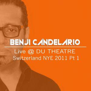 BENJI CANDELARIO Live @ DU THEATRE Switzerland NYE 2011 Pt 1