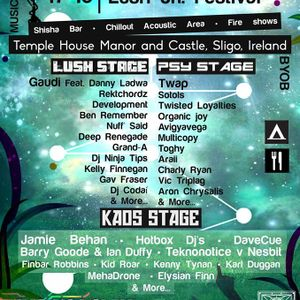 Deep Renegade Be Sound and Lush Fest Promo Mix
